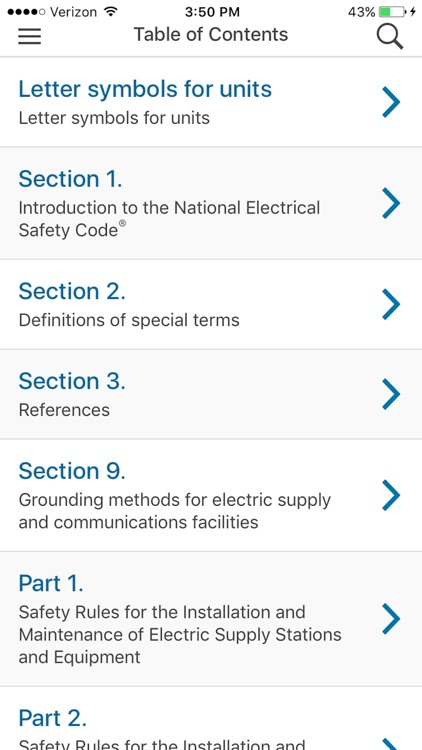 NESC 2017 IEEE App screenshot-2