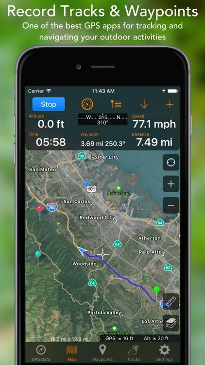 GPS Tracks app image