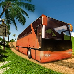 Offroad Tourist Bus Driving Transport Simulator