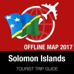 Solomon Islands Tourist Guide + Offline Map