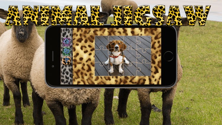 Animal Jigsaw - Kids Puzzles With Funny Picture! screenshot-3