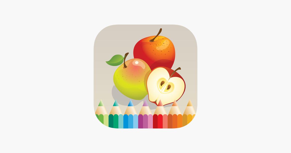 Boyama Kitabi Cocuklar Icin Meyve Ve Sebze App Store Da
