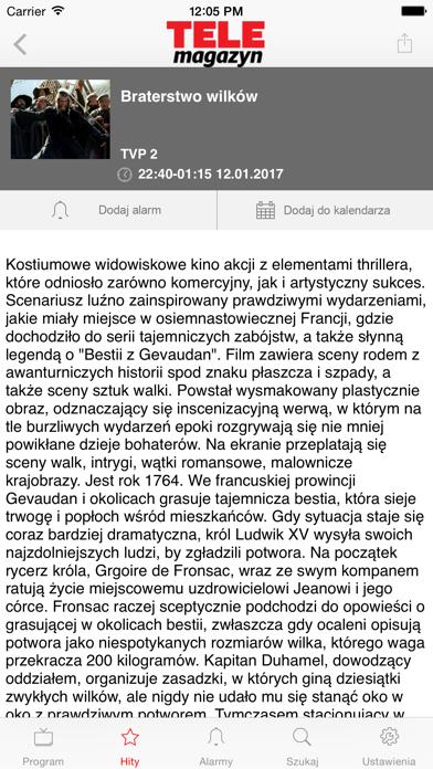 Program TV Telemagazyn screenshot four