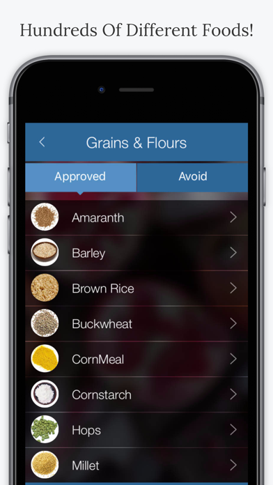 FODMAP Diet Foods. screenshot four
