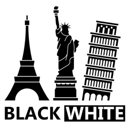 BLACk & WHITe II Stickers for iMessage
