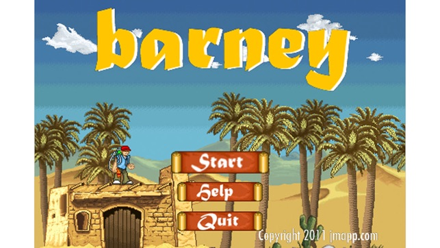 Barney Adventures, game for IOS