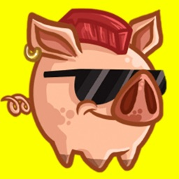 Mr Piggy - Cute pig stickers for iMessage