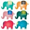 象のステッカーパック