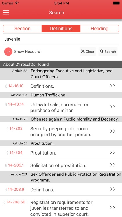 NC Criminal Law screenshot-3