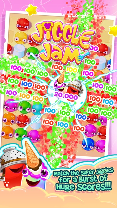 JIGGLE WATTS -JELLY MATCH GAME screenshot three