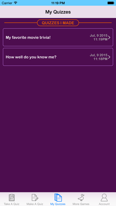 Quiz Your Friends - See who knows you the best! screenshot three