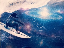 Galactic Surf Stickers