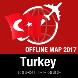 Turkey Tourist Guide + Offline Map