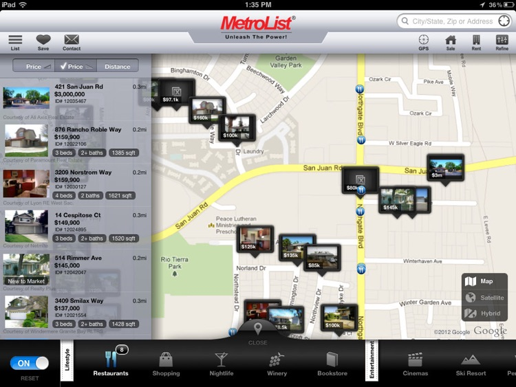 MLS PRO Real Estate for iPad screenshot-0