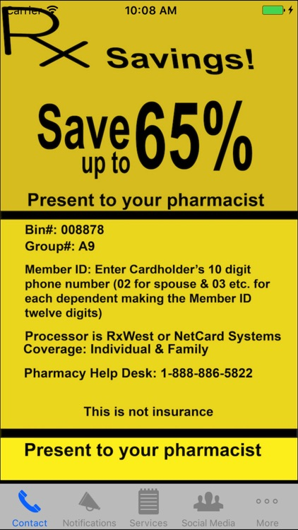 Rx Savings!