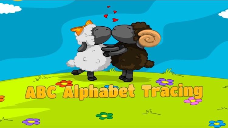 ABC Alphabet tracing kindergarten and first grade