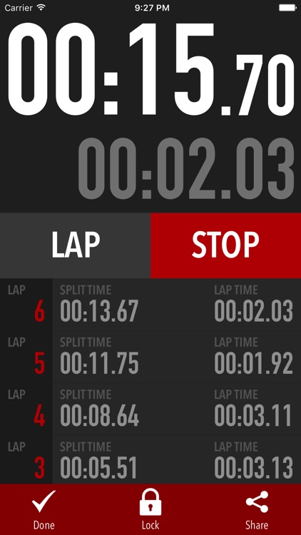 Super Stopwatch PRO screenshot-0