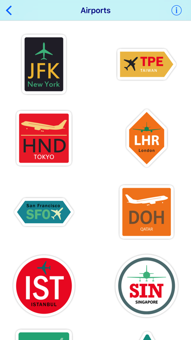 Aviation Sticker Pack | App Price Drops