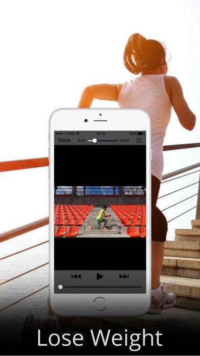 階段エクササイズワークアウトルーチンでカロリーを消費しますのおすすめ画像3