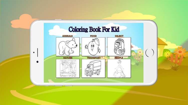 The Coloring Book For Kids
