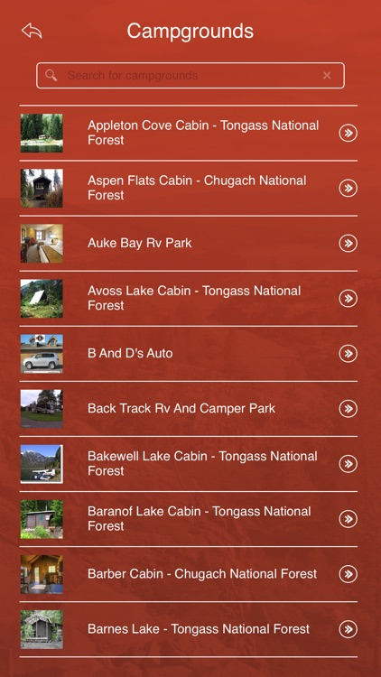 Alaska State Parks, Trails & Campgrounds