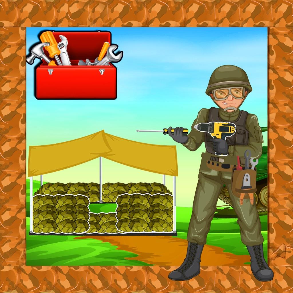 Army Bunker Border Builder - Construction Games hack