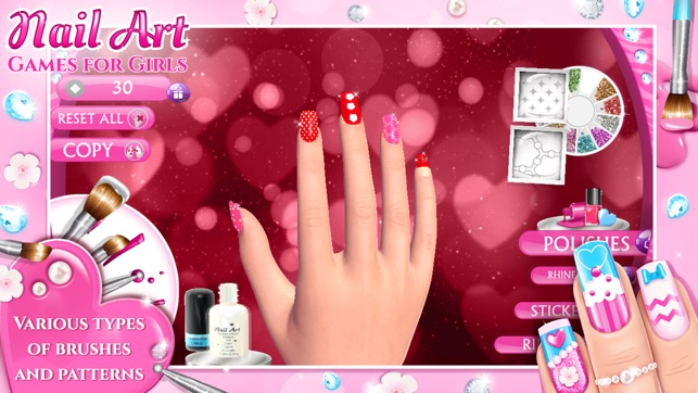 Nail Art Games for Girls: Top Star Manicure Salon on the App Store