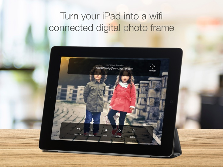 SendFrame - WiFi Photo Frame Slideshow