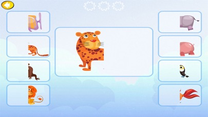 Animal match fun kids game