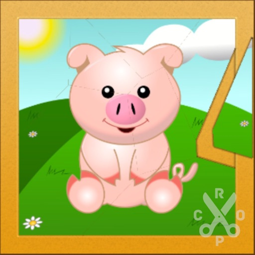Animal Puzzle To Learn English iOS App