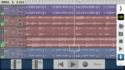 MultiTrack DAW Screenshot 2
