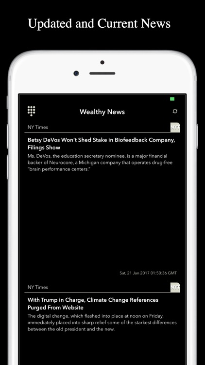 Wealthy News - Business & Finance News RSS Feed screenshot-1