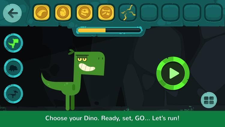 Dinos Jump - Dinosaur action game for kids screenshot-0
