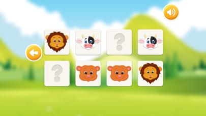 Animal Pairs Matching Games for Toddler & Kids screenshot three