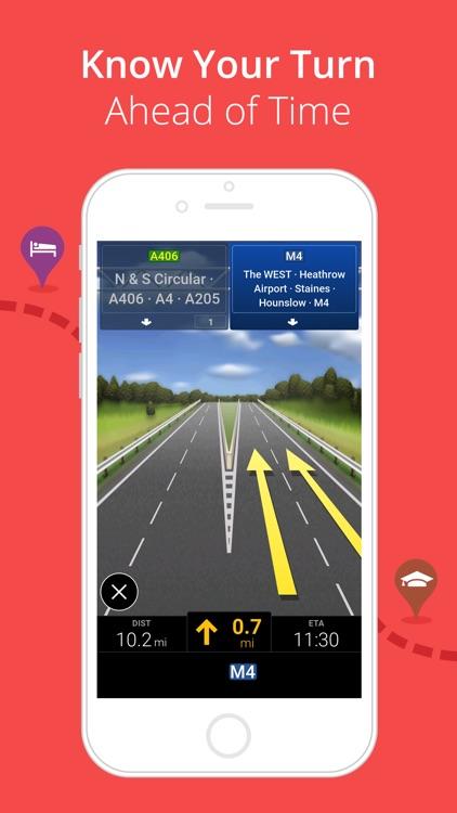 CoPilot UK & IRE – Offline Sat-Nav, Maps & Traffic screenshot-3