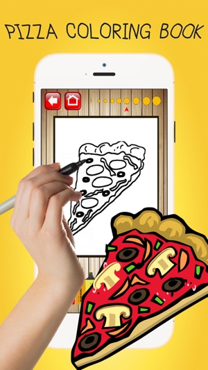 Color ME: Pizza Maker Fun Coloring Book Pages Kids on the App Store