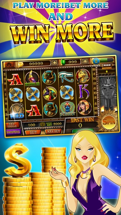 Slots - Pharaoh's Treasure