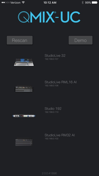 PreSonus QMix®-UC screenshot-0