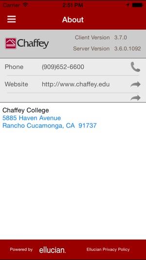 chaffey college mychaffeyview