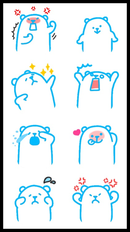 Umka Bear Best Stickers screenshot-0