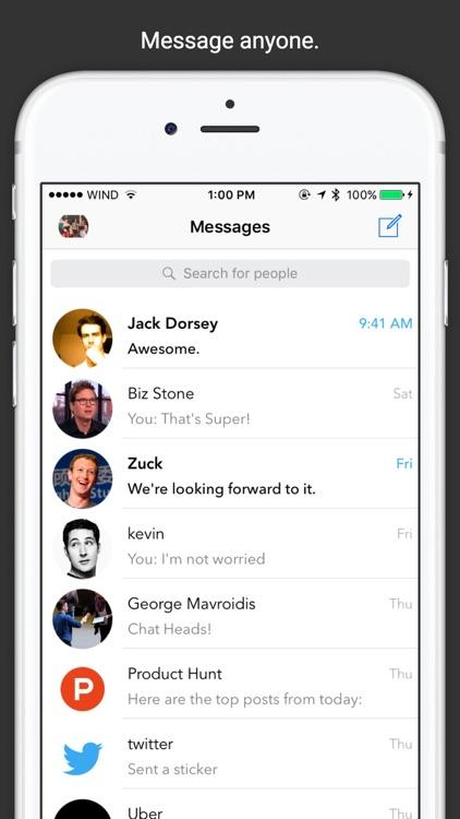 SMessenger - SMS Text Messaging, Voice, and Video screenshot-4