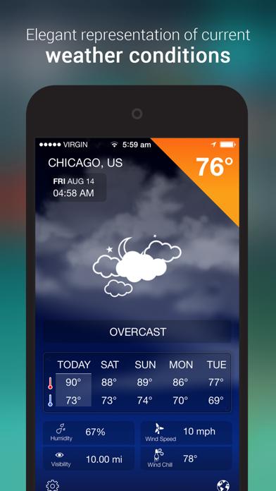 iWeather Forecastのおすすめ画像1