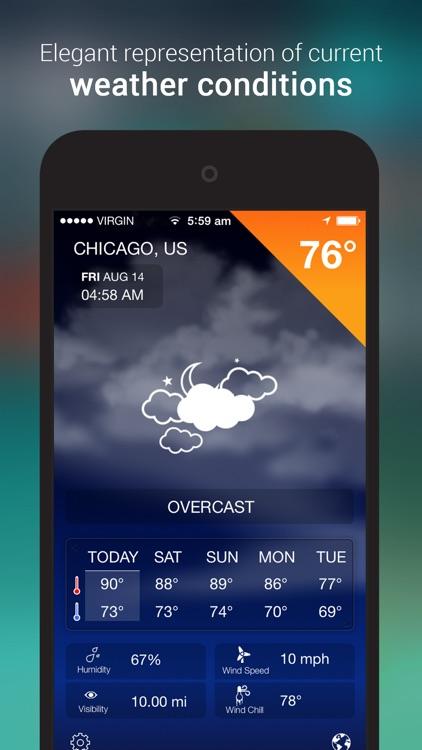 iWeather Forecast screenshot-0
