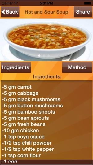 chines recipes im app store