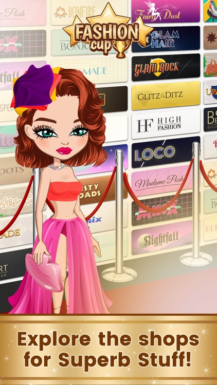 Fashion Cup - Dress up & Duel screenshot-0