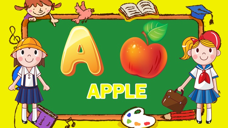 Learning ABC Vocabulary Letter Tracing for Kids