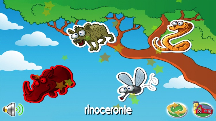 Names of animals for Kids screenshot-3