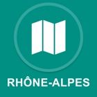 Rhone-Alpes, Franca : Off-line GPS Navigation icon