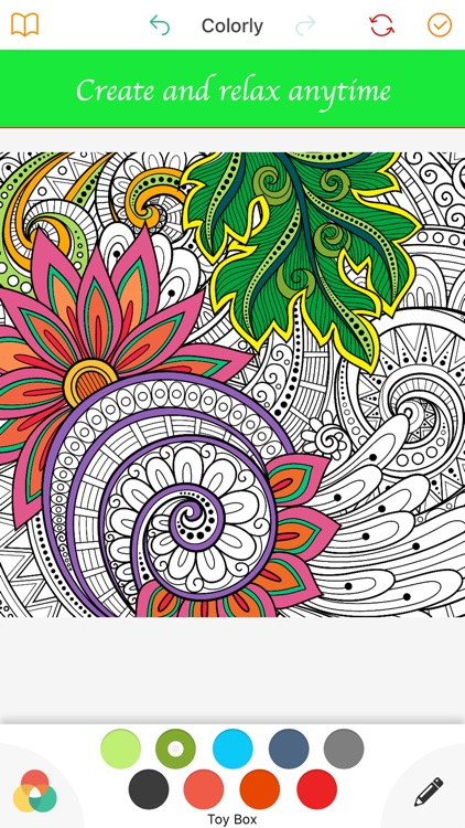 Colorly: Coloring book for Adults & Mandala - Free