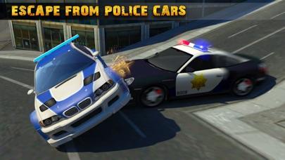 警察追逐汽车逃生 - 热追逐赛车疯狂 Police Car Chase 3D App 截图